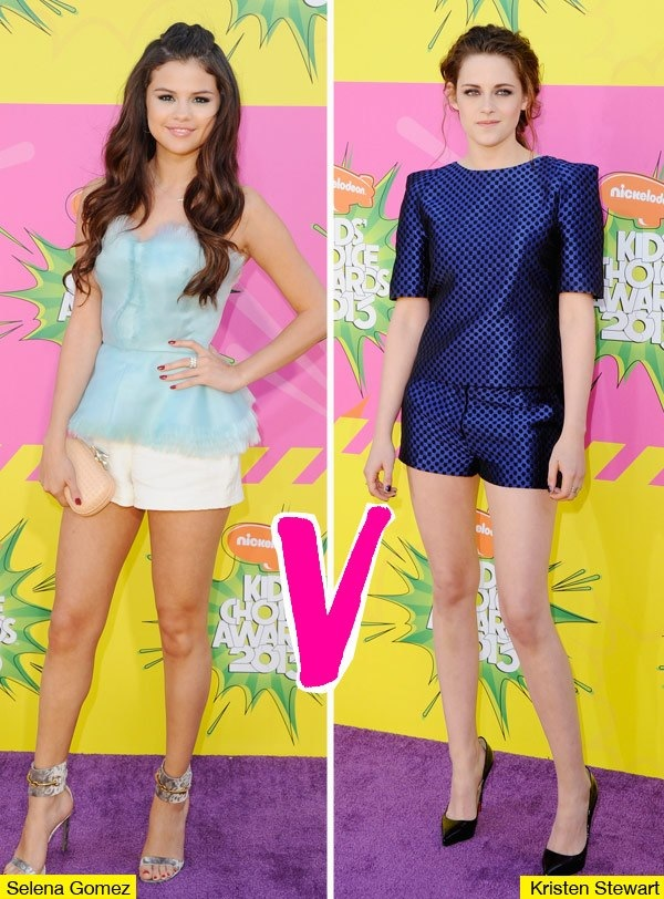 Selena Gomez & Kristen Stewart