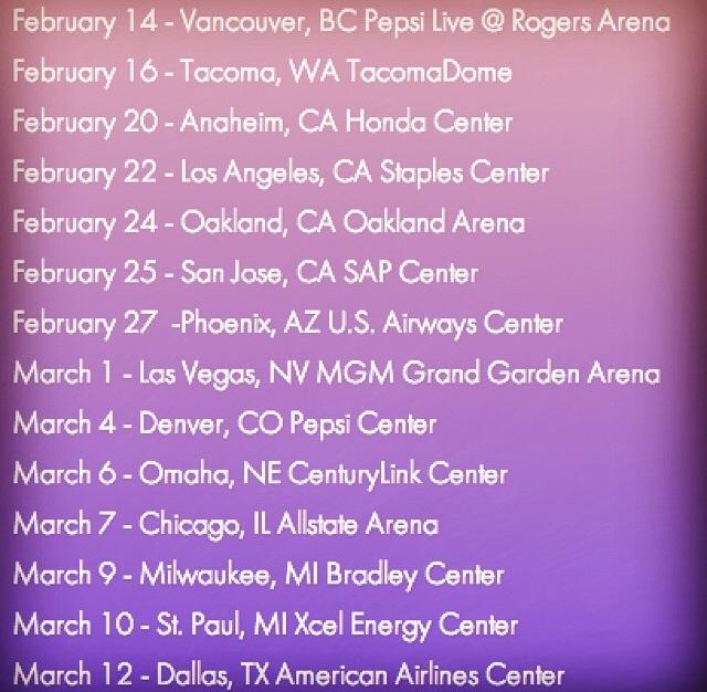 Miley+Cyrus+Concert+Tour+Dates Miley Cyrus & Liam Hemsworth Check Out ...